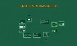 SENSORES ULTRASONICOS