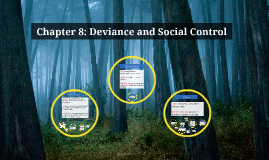 Copy of Copy of Chapter 8: Deviance and Social Control