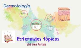 Esteroides tópicos