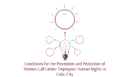 Conditions for the Promotion and Protection of Women Call Ce