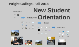 Copy of New Student Orientation, Fall 2018, 12-Week Classes