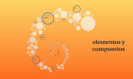 elementos y compuestos