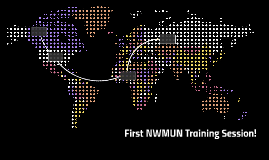 First NWMUN Training Session!