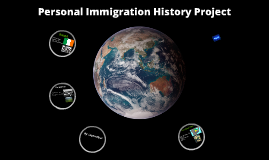Personal Immigration History Project