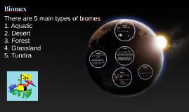 KS1 & 2 Biomes