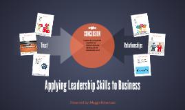 Copy of Applying Leadership Skills to Business