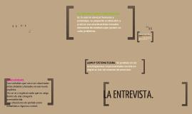 Copy of LA OBSERVACION Y LA ENTREVISTA EN EL PROCESO DE ORIENTACIÓN: