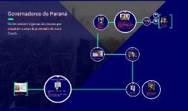 Governadores do Paraná