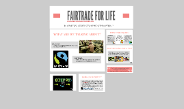 FAIRTRADE FOR LIFE