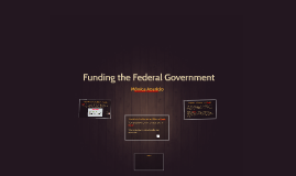 Funding the Federal Government