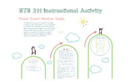ETE 211 Instructional Activity