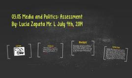 Copy of 03.05 Media and Politics