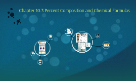 Chapter 10.3 Percent Composition and Chemical Formulas