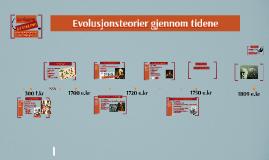 Evolusjonsteorier