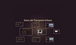 Datos del Transporte Urbano