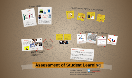 ATS New Faculty 2016: Assessment of Student Learning