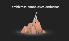 Emblemas Colombia
