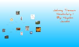 Johnny Tremain Vocabulary 1