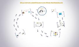 Copy of RELACION DEL ODONTOLOGO CON OTROS PROFESIONALES