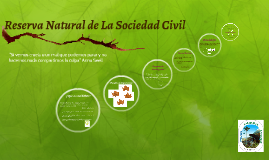Reserva Natural de La Sociedad Civil