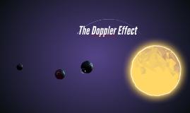 Copy of The Doppler Effect