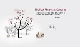 Biblical Financial Concept