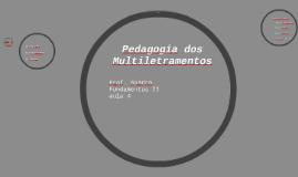 Pedagogia dos Multiletramentos