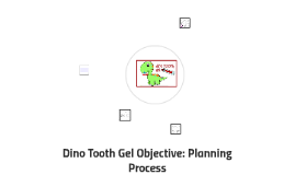 Dino Tooth Gel Objective: Planning Process
