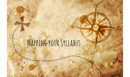 Mapping your Syllabus