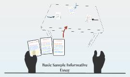 Basic Sample Informative Essay
