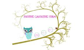 Passive Causative Form