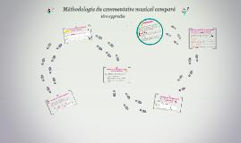 Méthodologie du commentaire musical comparé