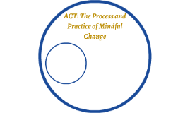 ACT: The Process and Practice of Mindful Change