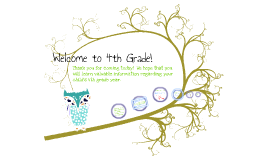 4th Grade Open House