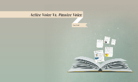 Verbs Using Active Voice Vs. Passive Voice