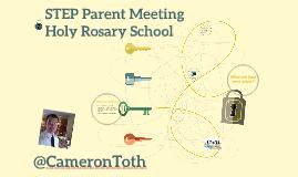 STEP Parent Meeting