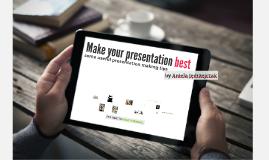 Copy of make your prezentation best