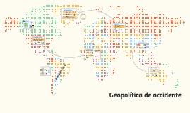 Geeopolítica de Occidente