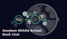 Goodson Middle School Book Club