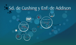 Sd. de Cushing y Enf. de Adisson