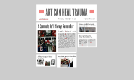 Art Can Heal Trauma