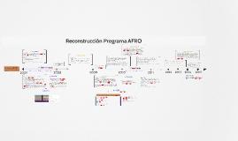 Reconstrucción Programa AFRO