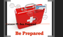 Lesson 19: Bea Prepared