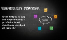Technology Protocol