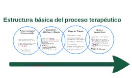 Estructura básica del proceso terapéutico