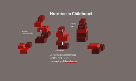 Nutrition - 3rd year lecture
