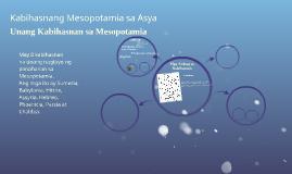 Kabihasnang Mesopotamia