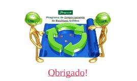 Programa de Gerenciamento de Resíduos Sólidos