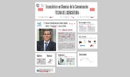 Licenciatura en Ciencias de la Comunicación