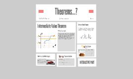 Theorems?